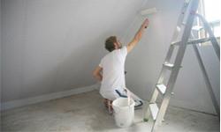 wand streichen tipps f rs richtiges abkleben und kanten streichen. Black Bedroom Furniture Sets. Home Design Ideas